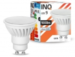 Żarówka LED GU10 9W MR16 6000K INQ Lighting LR040CW