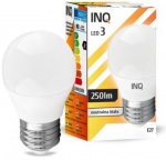 Żarówka LED E27 3W P45 4000K INQ Lighting LP052NW