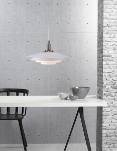 Bretagne Wisząca Design For The People by Nordlux 39489901 Biały
