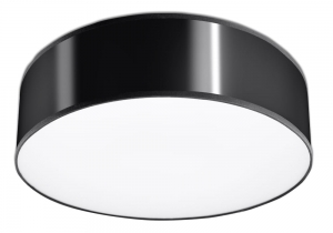 Arena 35 Czarna Plafon Sollux Lighting SL.0121