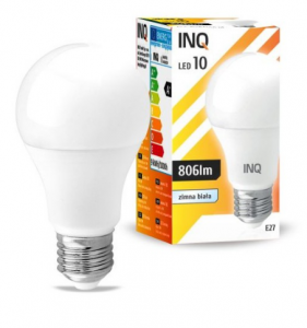 Żarówka LED E27 10W 6000K INQ Lighting LA034CW