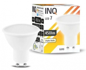 Żarówka LED GU10 6W MR16 3000K INQ Lighting LR034WW