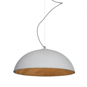 Jungle Wisząca Loft Light 60cm beton natural