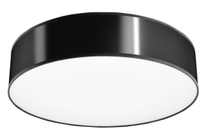 Arena 45 Czarna Plafon Sollux Lighting SL.0124