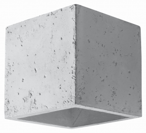 Quad Beton Kinkiet Sollux Lighting SL.0487