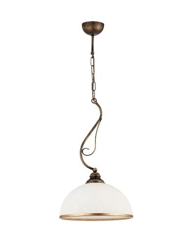 lampy wiszące patynowane